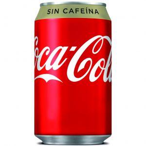 Refresco s/caf cola coca cola  lata 33cl
