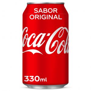 Refresco  cola coca cola  lata 33cl