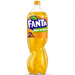 Refresco  naranja fanta pet 2l