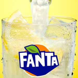 Refresco  limon fanta lata 33cl