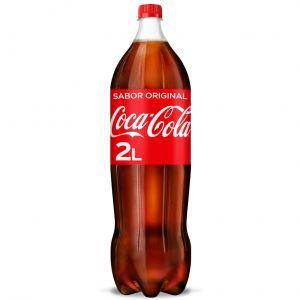 Refresco  cola coca cola  bot 2l