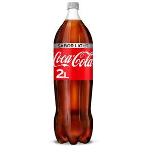 Refresco light cola coca cola  pet  2l