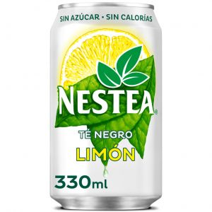 Te sin azucar al limon nestea lata 33cl