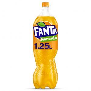 Refresco  naranja fanta pet 1,5l