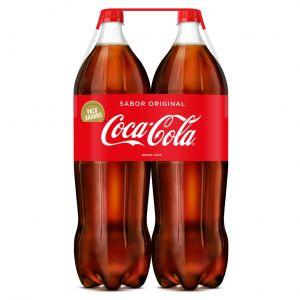 Refresco  cola coca cola  pet p-2 2l