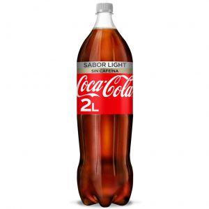 Refresco light s/caf cola coca cola  pet 2l