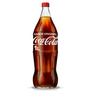 Refresco  cola coca cola  bot 1l