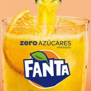 Refresco zero naranja fanta pet 2cl