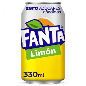 Refresco zero limon fanta lata 33cl