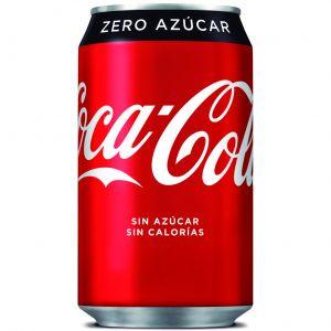 Refresco zero cola coca cola  lata 33cl