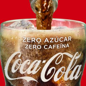 Refresco zero zero cola coca cola  lata 33cl