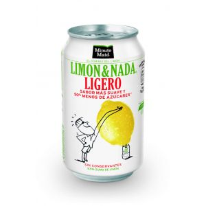 Refresco limon nada original  m. maid  lata  33cl