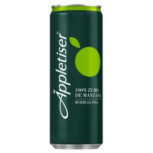 Bebida de manzana appletiser lata 25cl