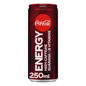 Bebida cola coca cola energy lata  25cl