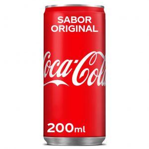 Refresco cola coca cola lata 20cl