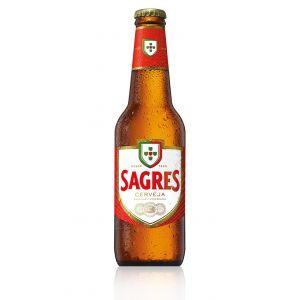 Cerveza sagres botella 33cl