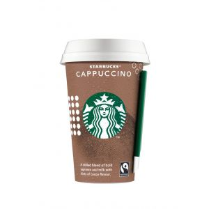 Café capuccino   starbucks discoveries  220ml