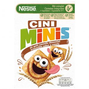 Cereales cini minis nestle 375g