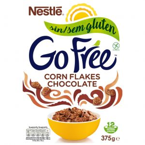 Cereales sin gluten choco corn flakes nestle 375g