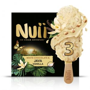 Helado blanco nuii pack3x 90ml