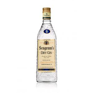 Ginebra seagram´s botella de 70cl