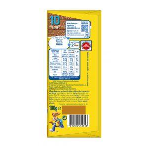 Chocolate con leche  nesquik  100g
