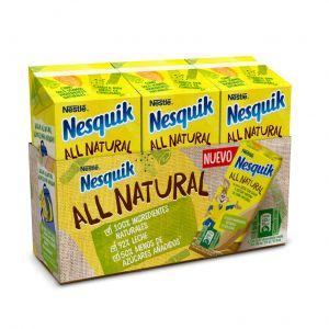 Batido all natural choco nesquik p-3 180ml