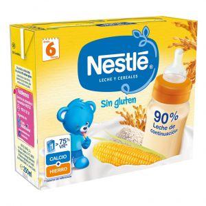 Papilla liq s/glut cereales nestle  p2x500ml
