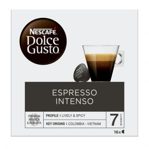 Cafe en capsulas espresso intenso dolce gusto 16 capsulas