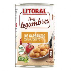 Garbanzos hoy legumbres litoral 440g