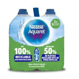Agua mineral  aquarel pet 5l