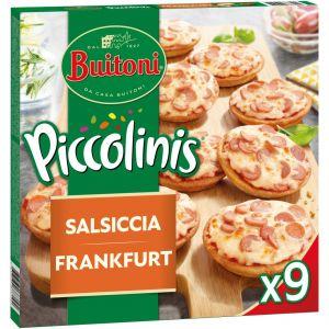Piccolinis con frankfurt buitoni 360g