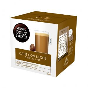 Cafe en capsulas con leche dolce gusto 16 capsulas