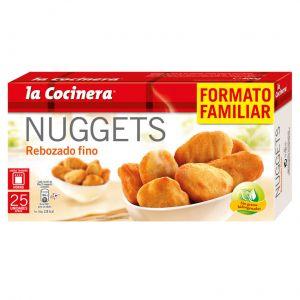 Nuggets rebozado fino  la cocinera 400g
