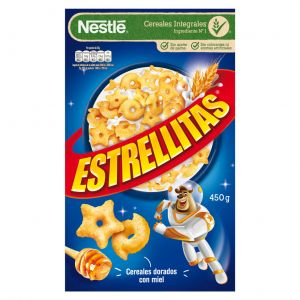 Cereales de estrellitas nestle 450g