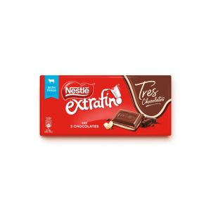 Chocolate relleno 3 chocolates nestle  125g
