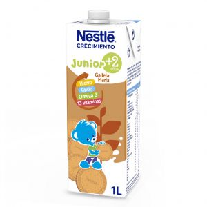 Leche crecimiento junior 2 + galletas nestle 1l