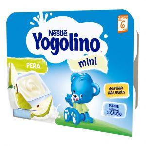 Postre lacteo  pera iogolino  6x60g