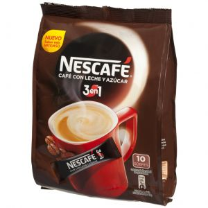 Cafe soluble 3 en 1 nescafe 180 gr