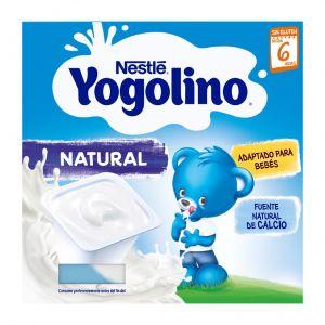 Postre lacteo  natural iogolino  p4x100g