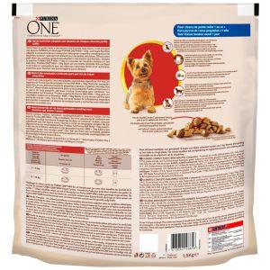 Comida perro buey arroz one mini adulto 1,5k