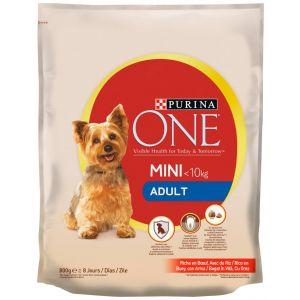 Comida perro adulto one  800g