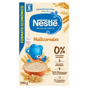 Papilla  multicereal nestle  500g