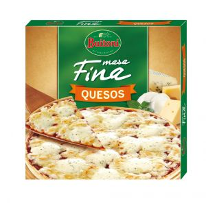 Pizza fina 3 quesos buitoni 300g