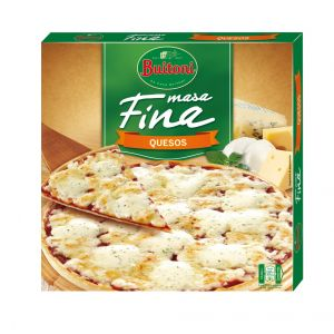 Pizza fina 3 quesos buitoni 300g