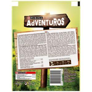 Snack perro strips purina adventuros 90g