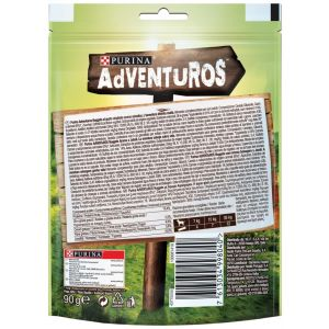 Snack perro nuggets purina adventuros 90g