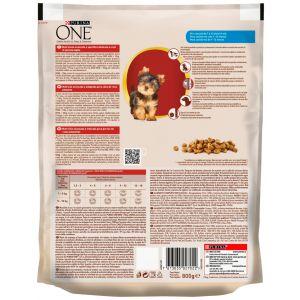 Comida perro baby pollo/arroz one 800g