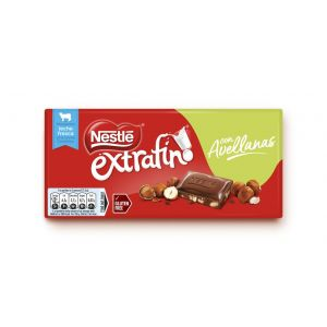 Chocolate  avellana nestle  123g