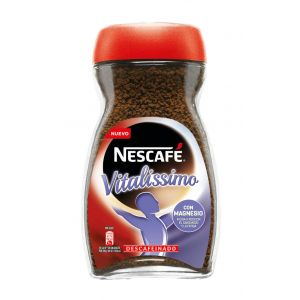 Cafe soluble descafeinado nescafe vitalissimo 200 gr
